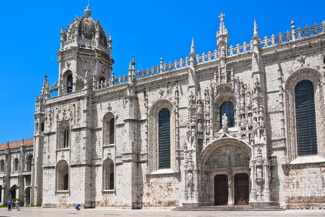 Монастырь Жеронимуш, Башня Белен - архитектура Лиссабона.