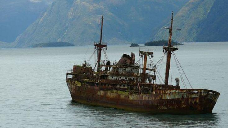 Береговая охрана Кубы обнаружила исчезнувший в Бермудском треугольнике корабль. Судно, пропавшее 100 лет назад, стояло на отмели Культура