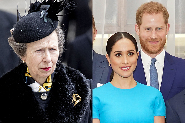 """Принцесса Анна прокомментировала разногласия в королевской семье и обратилась к ее младшим членам: """"Не изобретайте колесо"""" Монархии"""