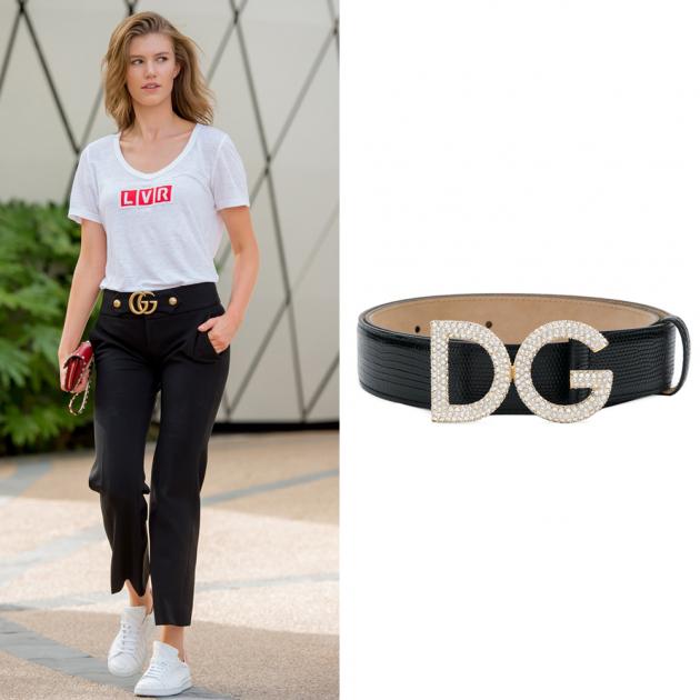 Ремень DG, Dolce&Gabbana, 45 000 руб.