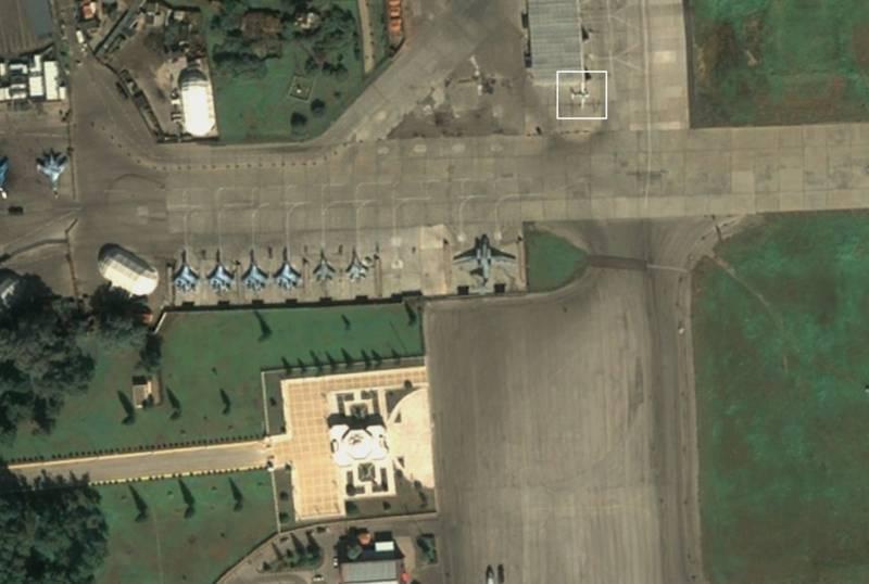 Необычные самолеты ФСБ России замечены на базе Хмеймим в Сирии Новости