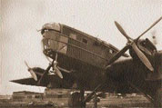 Самолет ТБ-3 с моторами АМ-34РН