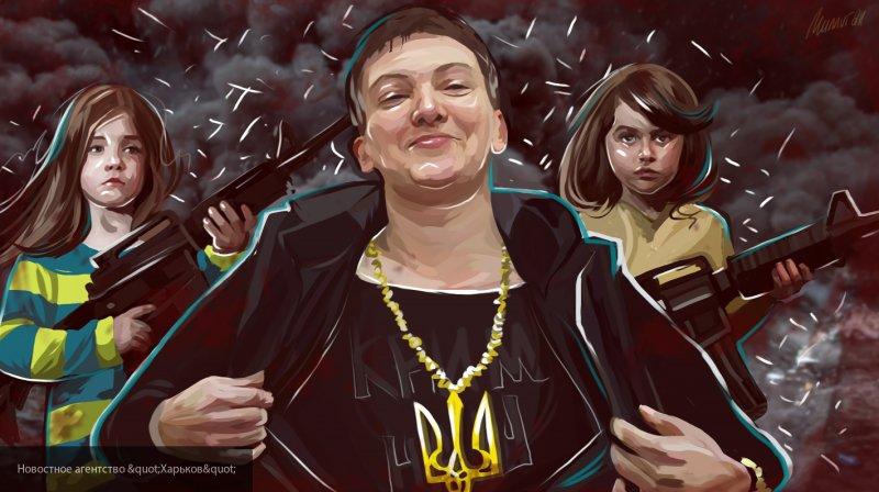 Савченко предложила себя в качестве глав Минобороны и МИД Украины