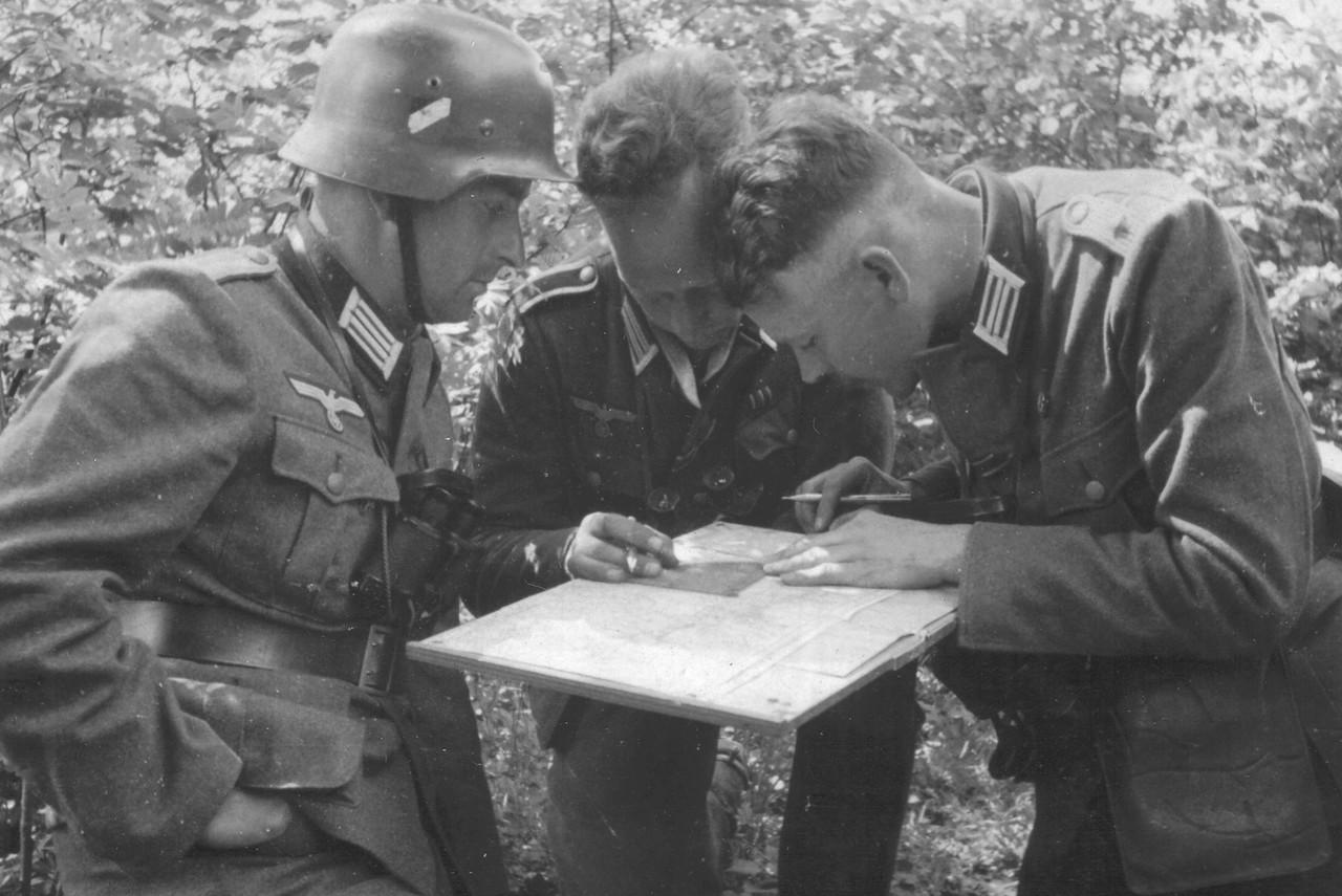 военное фото немцев солдаты нашей