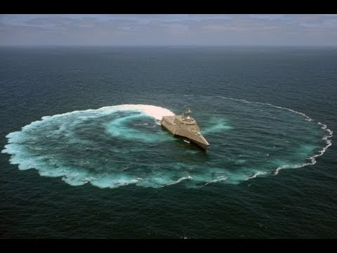 US Navy - USS Independence (LCS 2) Maneuvering Capabilities Demonstration