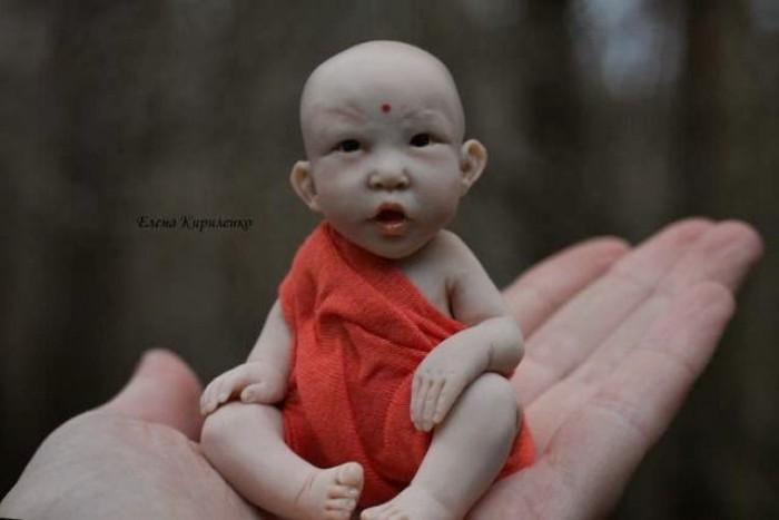 Куклы. Елена Кириленко Куклы-малютки, сделай сам