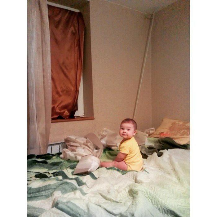 17 комичных фотографий о том, что происходит, когда дети затихают на минутку