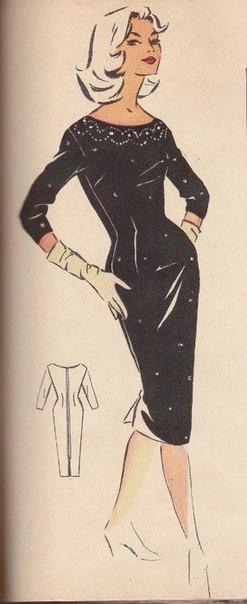 Ретро-платья. Выкройки