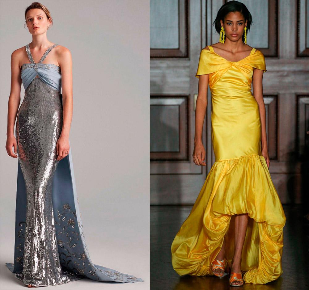 Красивые вечерние платья в пол 2018