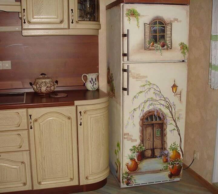 Как креативно преобразить холодильник Обычный, Достаточно, точно, кухне, холодильнику, такому, фантазию, проявить, решения, белый, креативные, цвета, яркие, неактуально, этоуже, холодильник, позавидуют