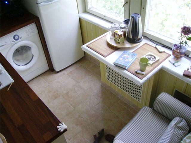 Дизайн угловой кухни в хрущевке