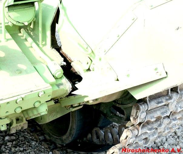 Т-72Б3 после удара