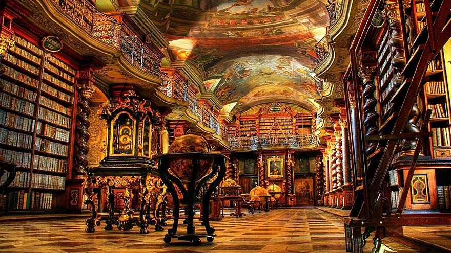 25 самых красивых библиотек в мире
