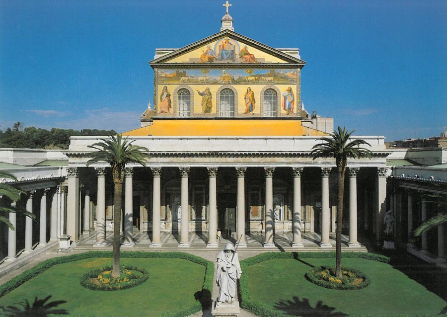 Собор святого павла в риме фото