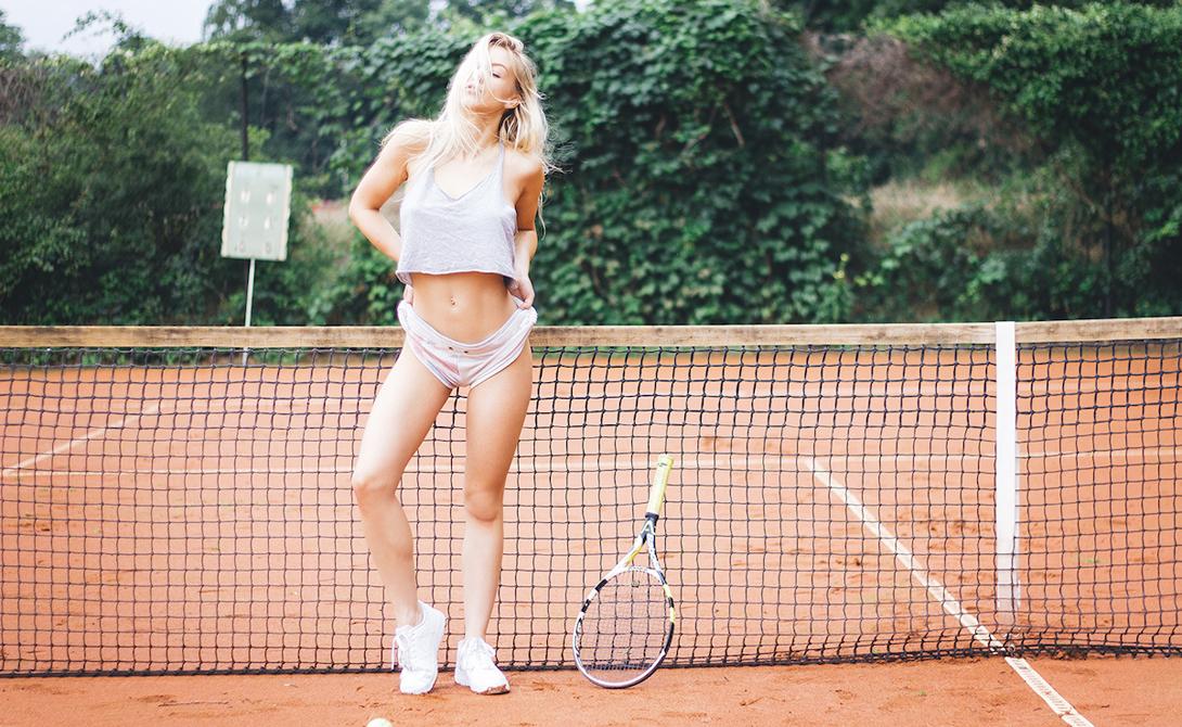 Алиса Соммер: большой теннис для самых горячих