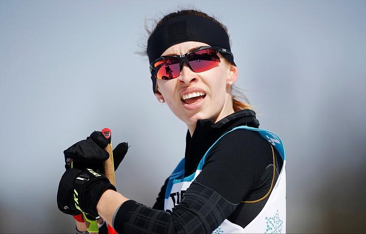 Россиянка Лысова выиграла в биатлонной гонке на Паралимпиаде-2018