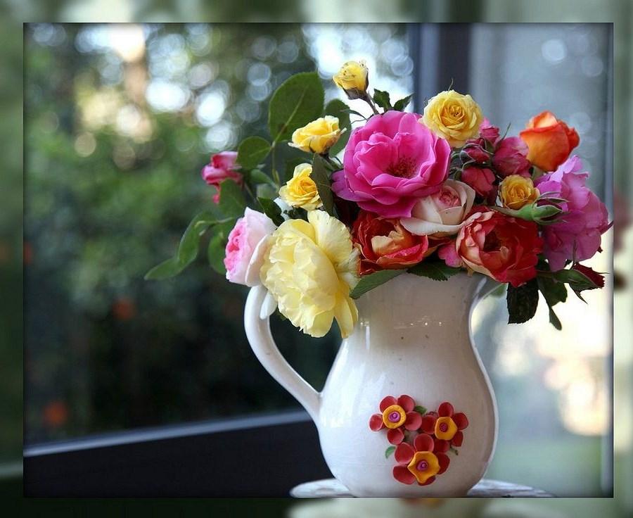 Цветами в вазе картинки
