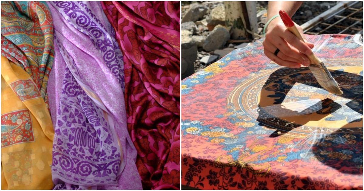 Старый платок в новом амплуа: гениальное преображение интерьера, достойное всяческих похвал