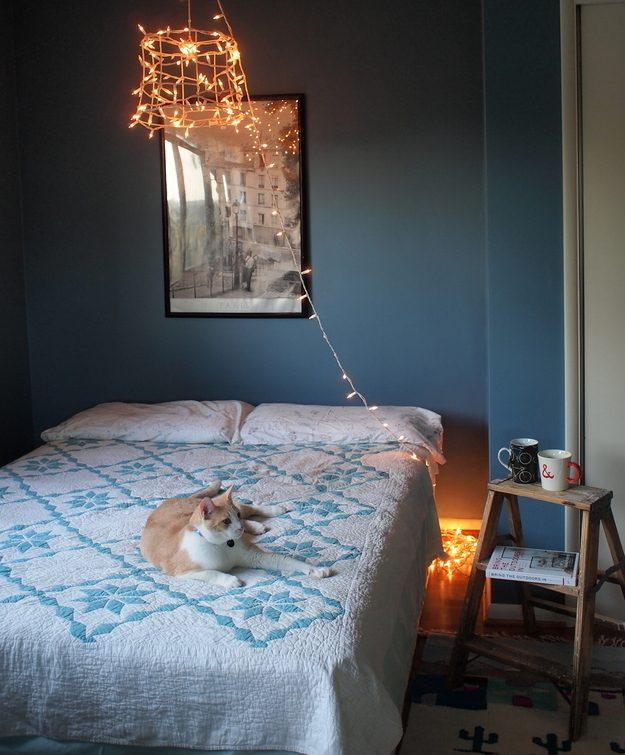 Дизайн-хаки для маленькой спальни