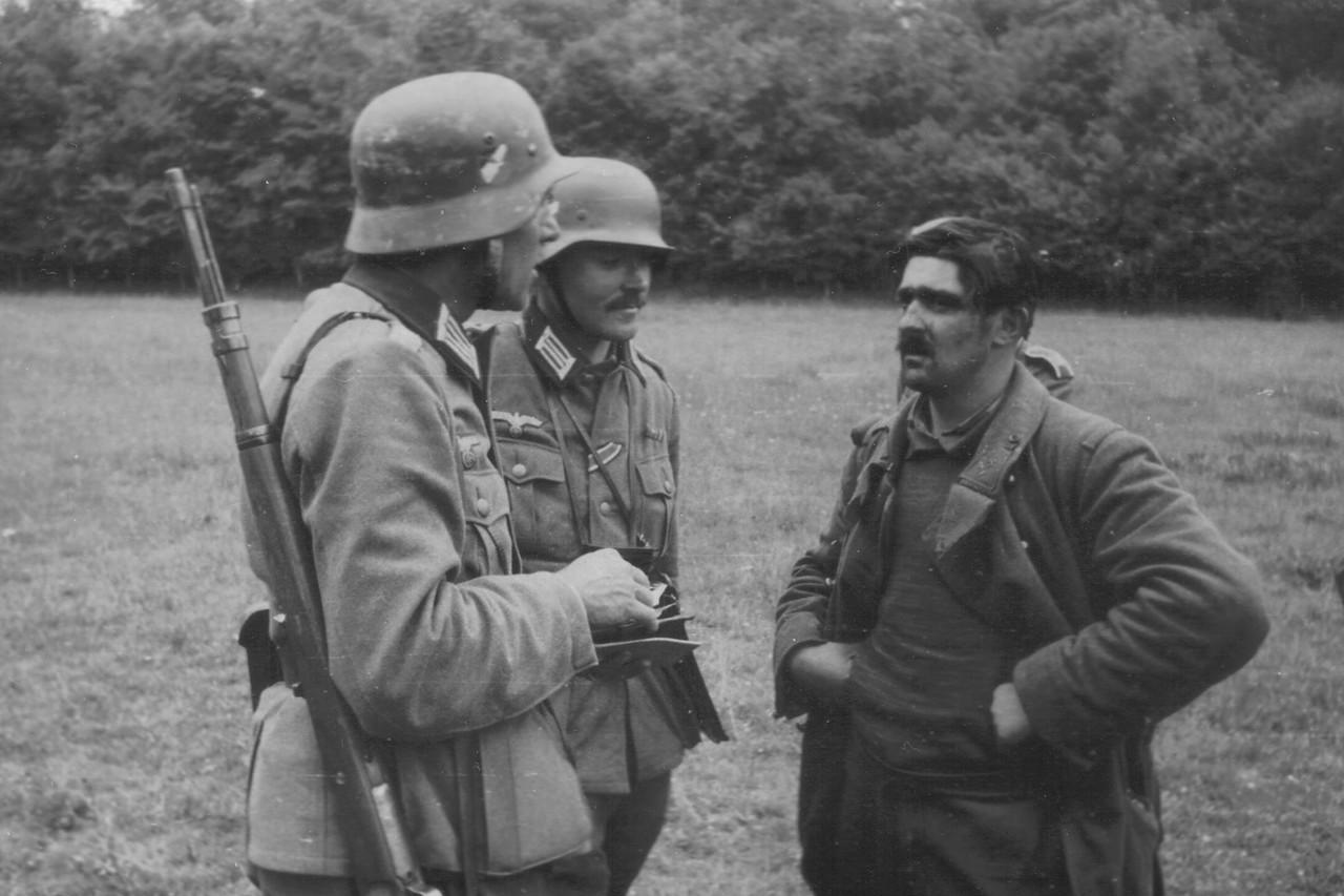 военное фото немцев