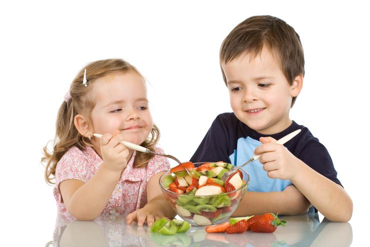 Днем, картинки про питание для детей