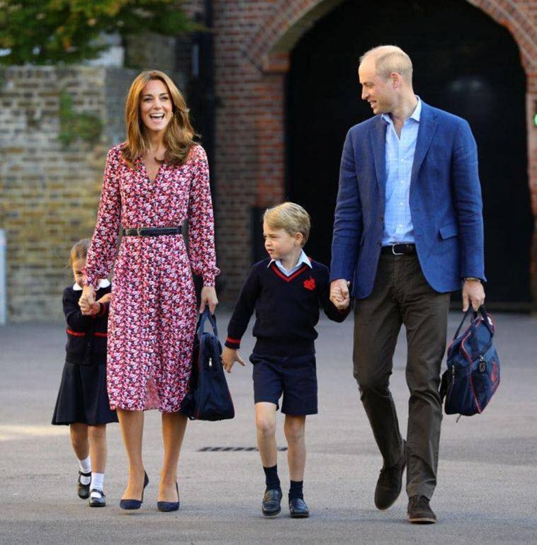 последние фото семьи герцогини кембриджской сахар красный