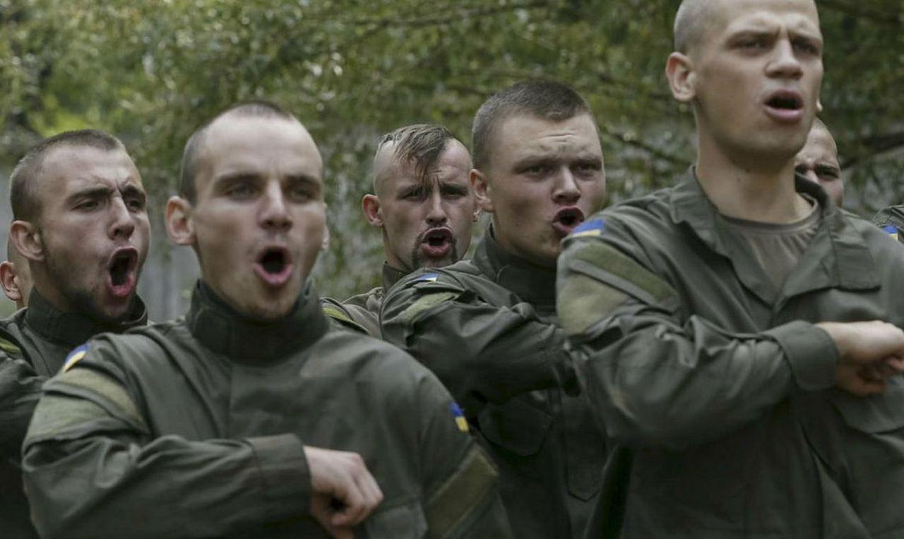 Системный нацизм в картинах и лицах