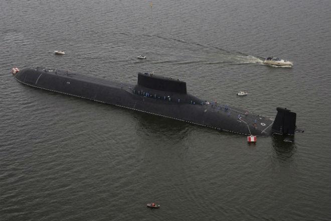 Проект Акула: атомная субмарина размером с авианосец авианосец,акула,Атомная подводная лодка,Пространство,субмарина