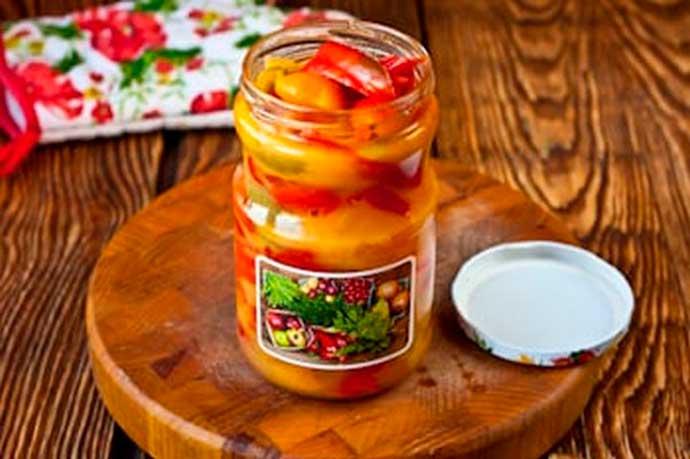 Перец в меду - рецепт с пошаговыми фото