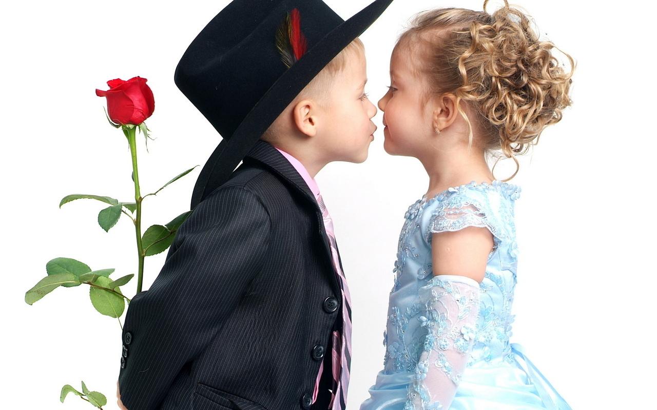 Дети поцелуи картинки, открытка осени открытки