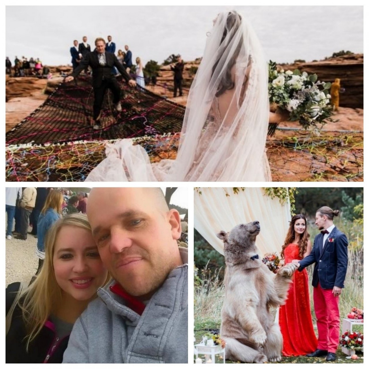 Три самых необычных свадебных истории