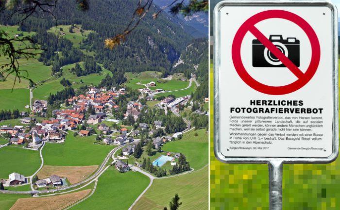 Почему власти запретили фотографировать деревню Бергюн