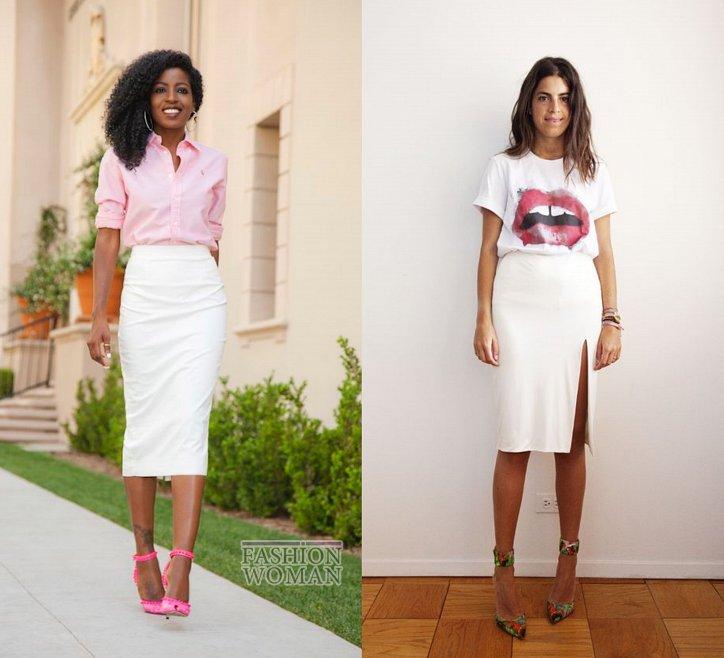 С чем носить юбку-карандаш и выглядеть модно фото №21
