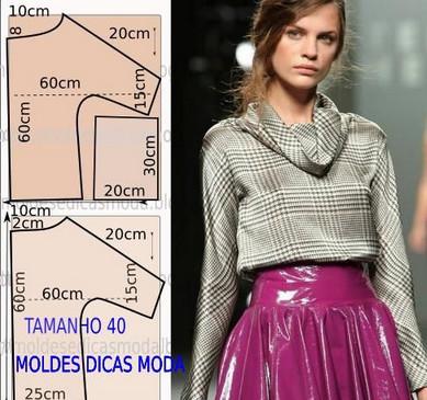 Моделирование: блузки, футболки…