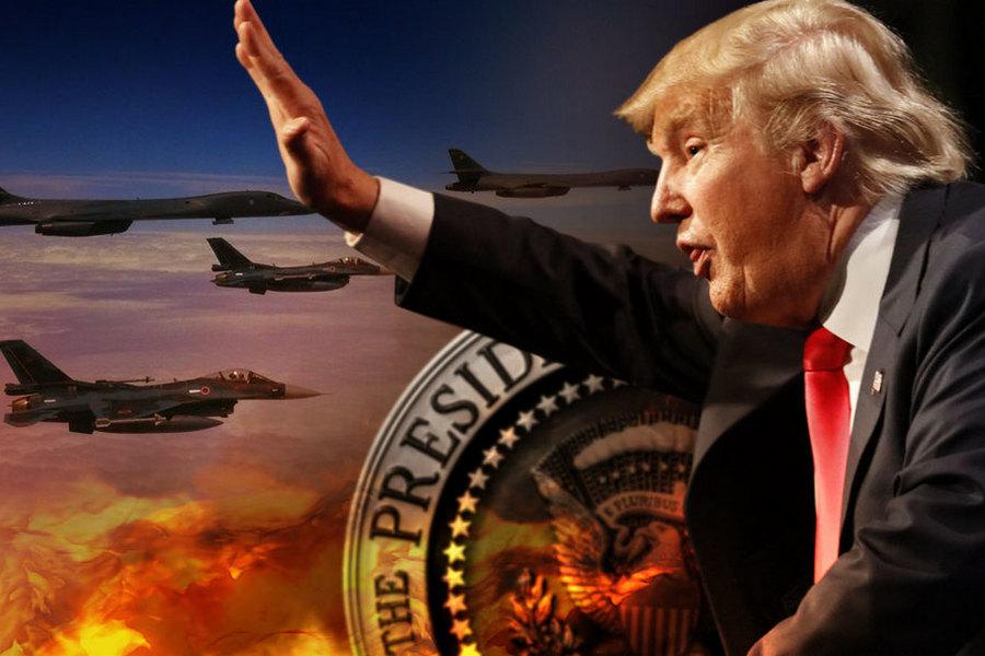 """Трамп намерен """"задавить"""" Россию и Китай. А заодно - весь мир"""
