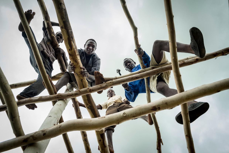Плантации табака в Малави