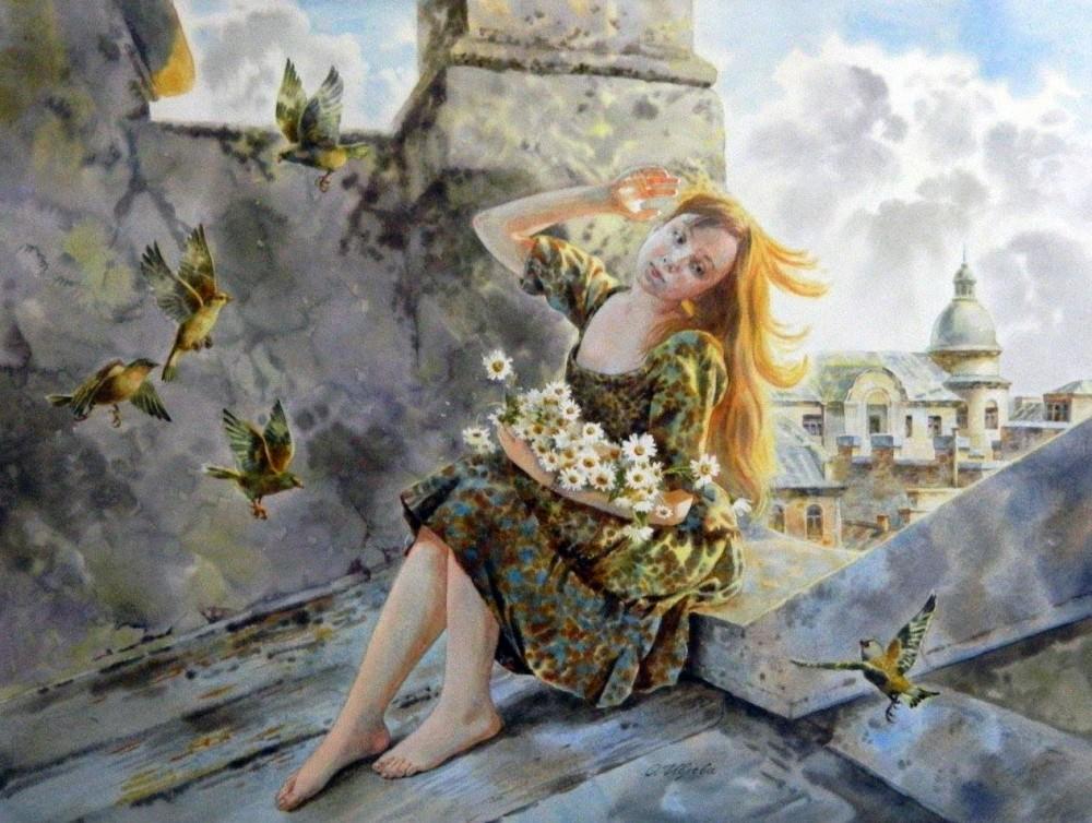 Художница Ольга Ивлева. По городам и странам
