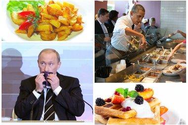 Huffington Post: праздничная картошка Путина затмила вафли Обамы