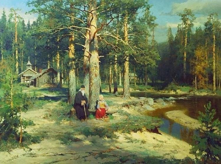 Художник Юрий Васендин о красоте Русского Севера