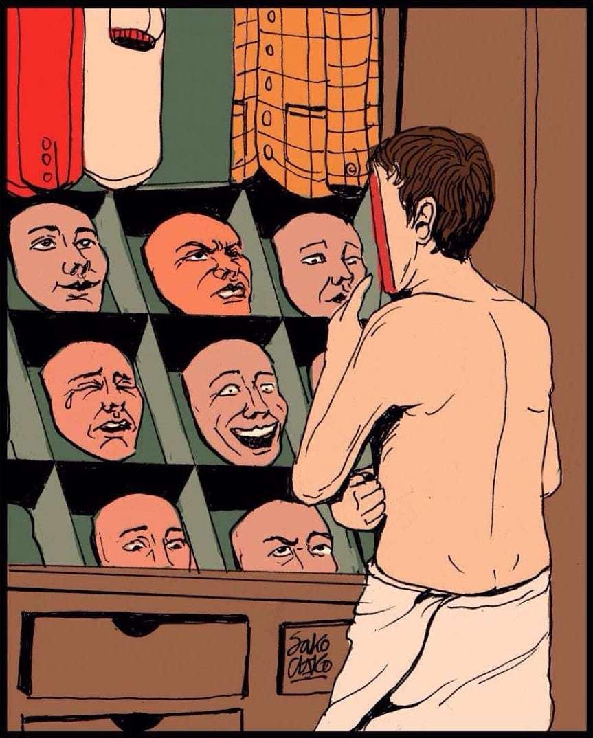 Иллюстратор рисует то, о чём вы думаете, но боитесь сказать