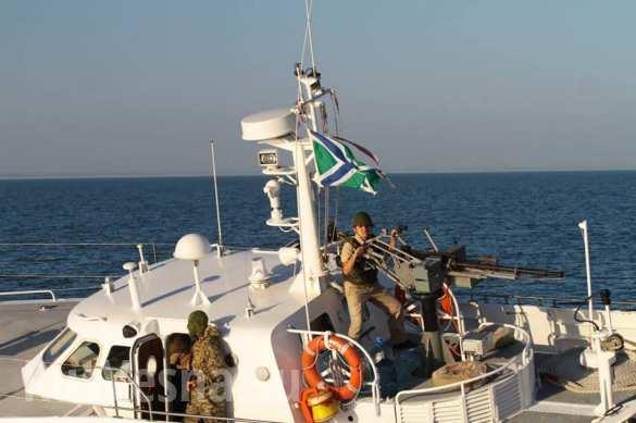 Российский сторожевой катер запугал украинских пограничников в Азовском море