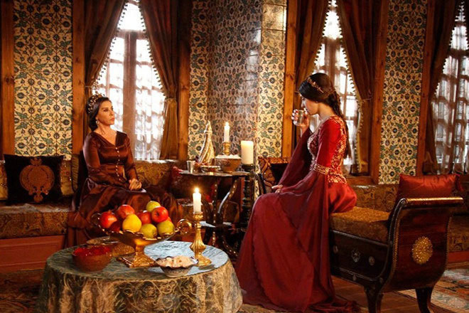 Как готовили наложниц в султанских гаремах гарем, наложницы, султан