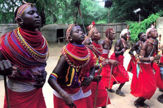 Племя Масаи