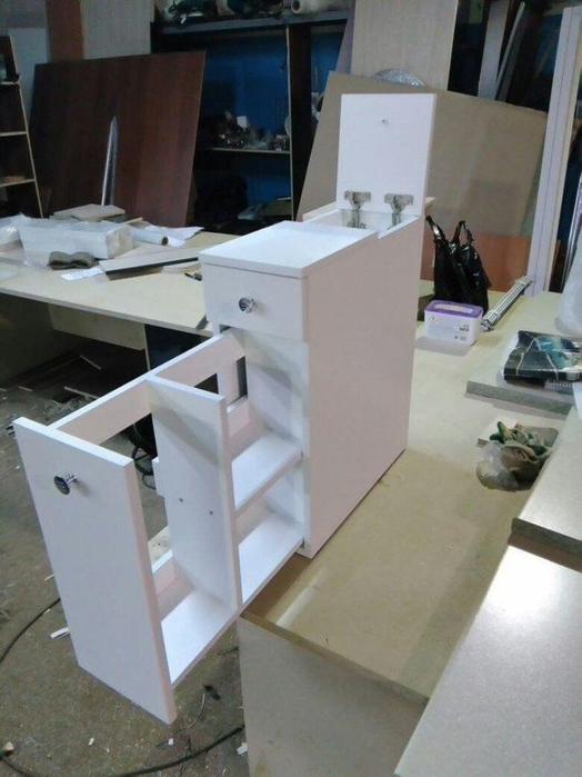 Шкафчик для ванной комнаты  своими руками домашний очаг...