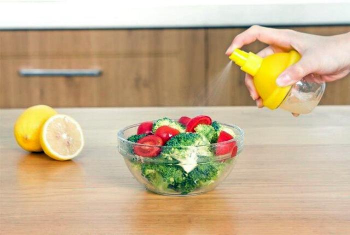 Лимонный сок вместо соли. | Фото: www.fishpond.com.fj.