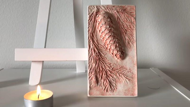 Шикарная композиция, сделанная из простого природного материала