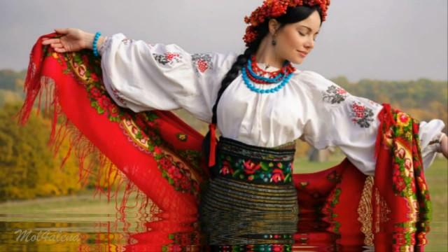 При долині кущ калини – украінська народна пісня