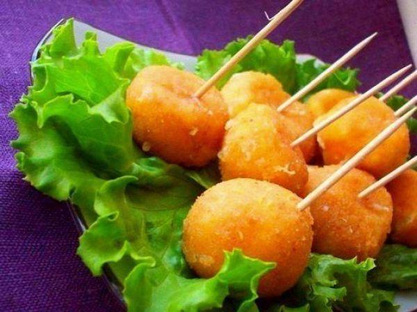 Как приготовить вкуснючие сырные шарики