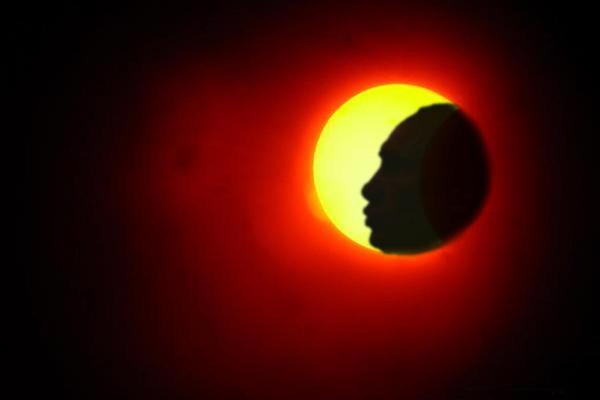 Солнечное затмение вызвало панику на Украине
