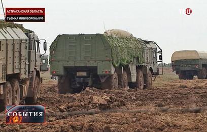 """Впервые опубликовано видео боевого пуска ракеты """"Искандер-М"""""""